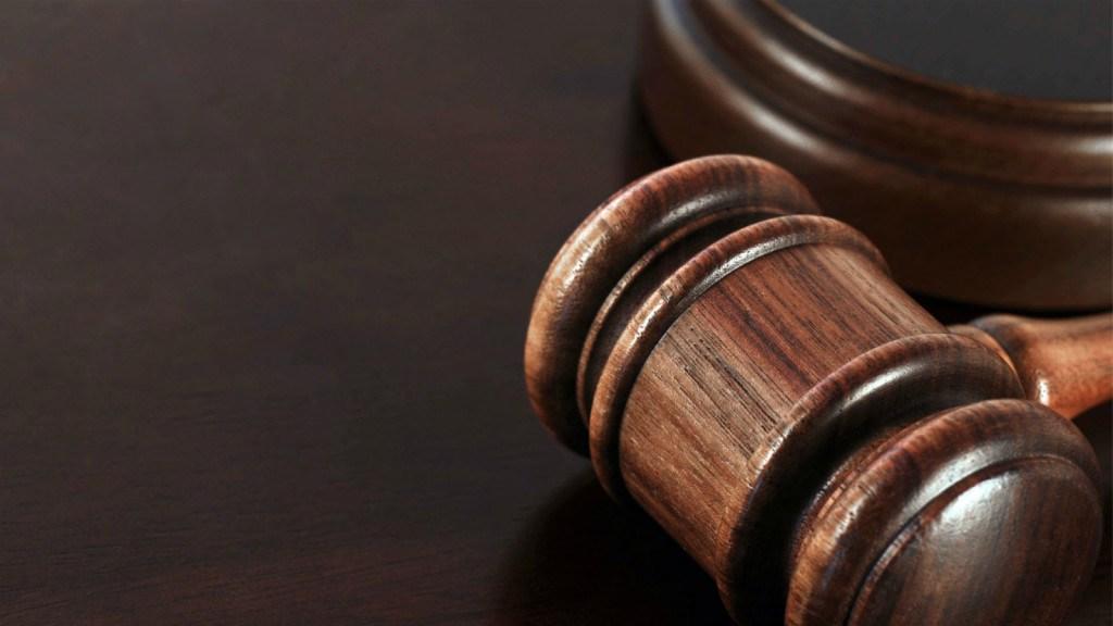 judge's mallot of courtroom desk